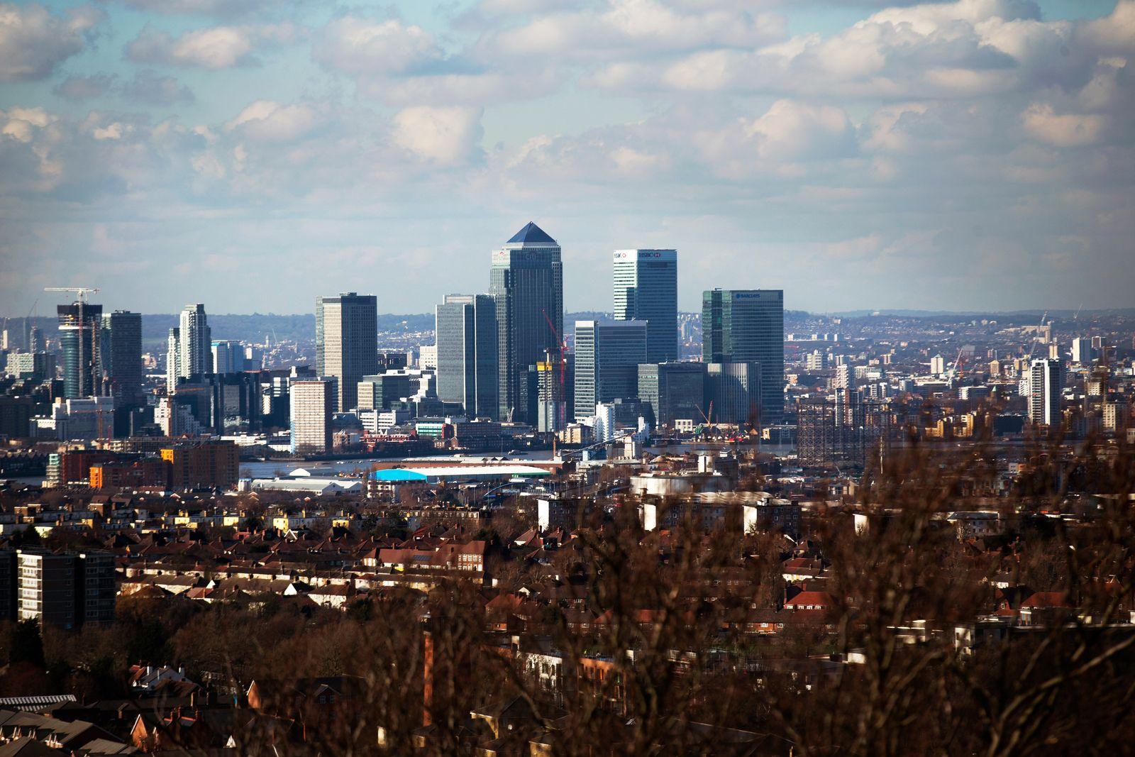 England / London / Banken / Bankenviertel / Konjunktur