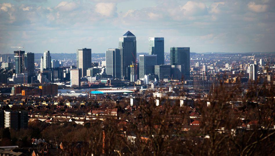 Bankenviertel in London