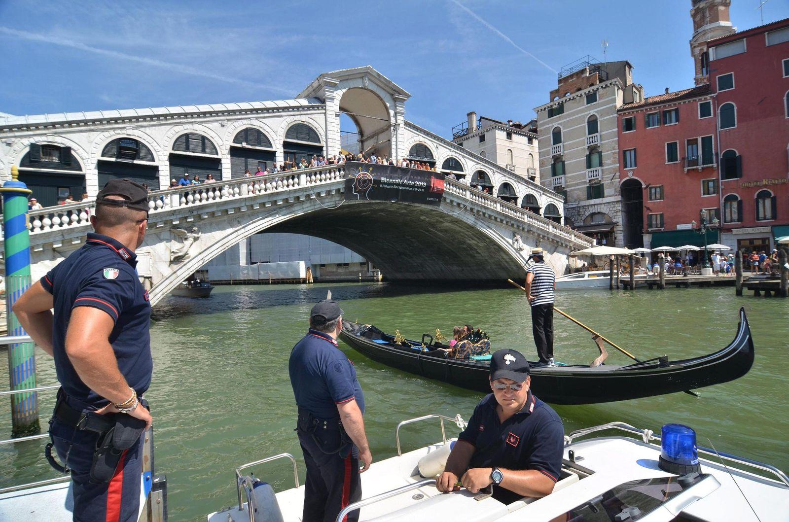 Venedig/ Gondelunfall