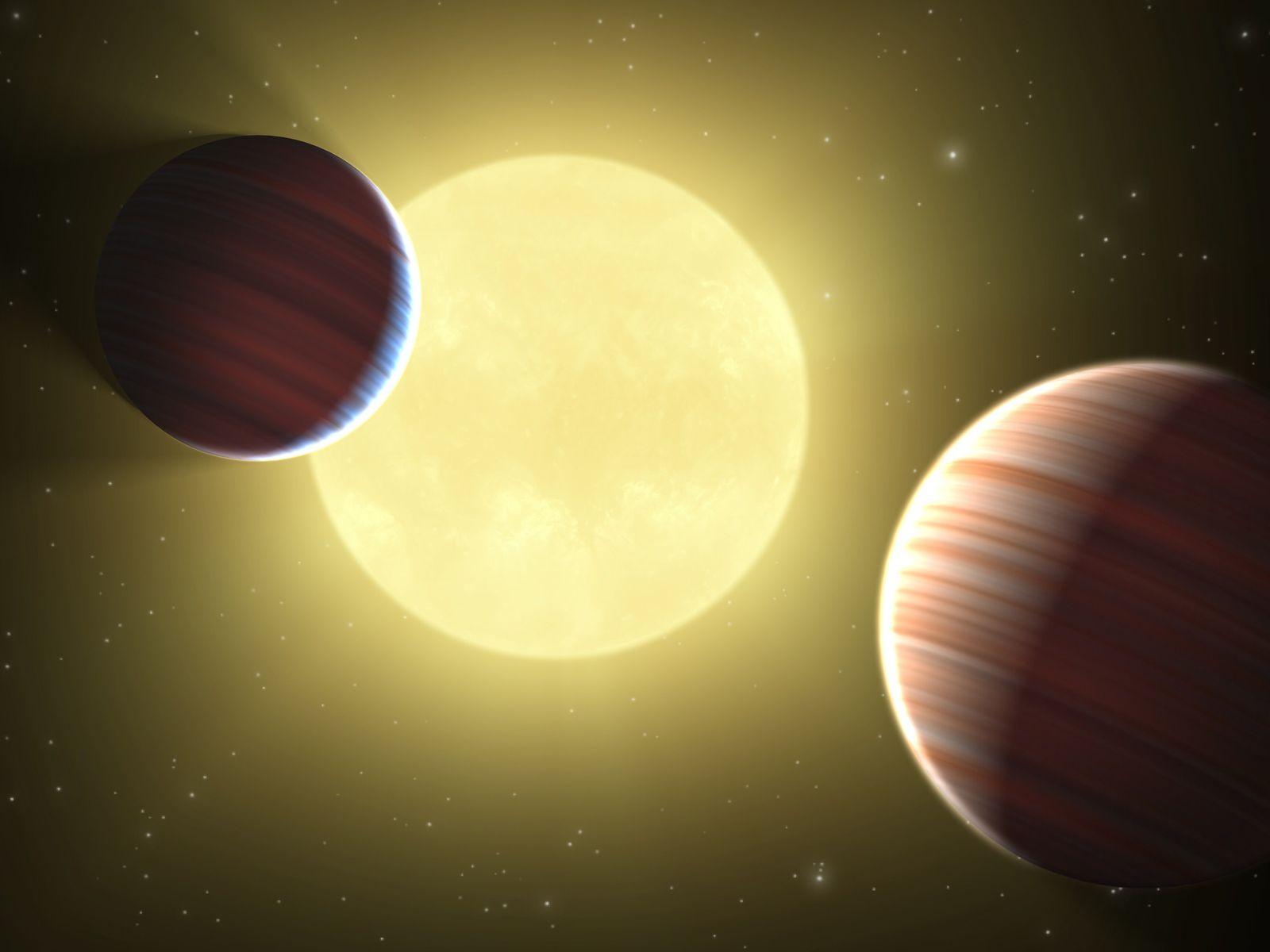 EINMALIGE VERWENDUNG Kepler / Planeten Neuentdeckung
