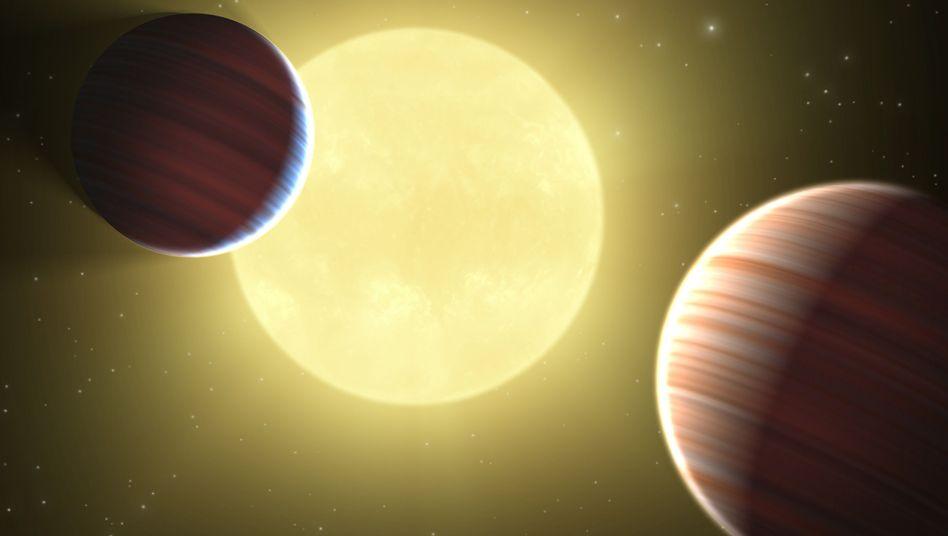 Fremde Welten (künstlerische Darstellung): Lebensfreundliche Planeten in Aussicht?
