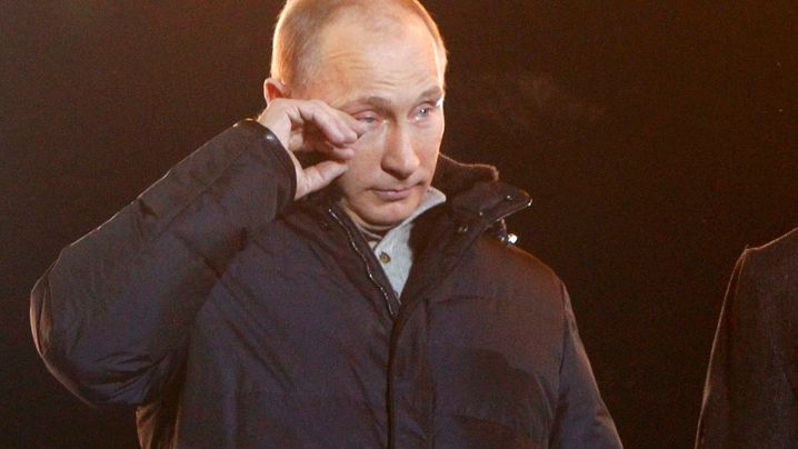 Putins Selbstinzenierung: Ein ganzer Kerl für Russland