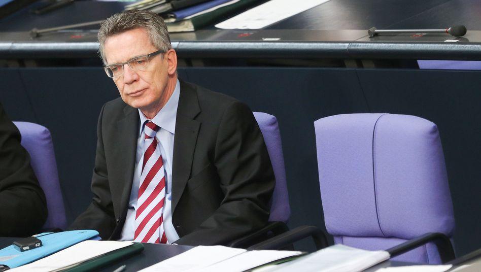 """Minister de Maizière: """"Von allgemeinen Problemen informiert, nicht von unlösbaren"""""""