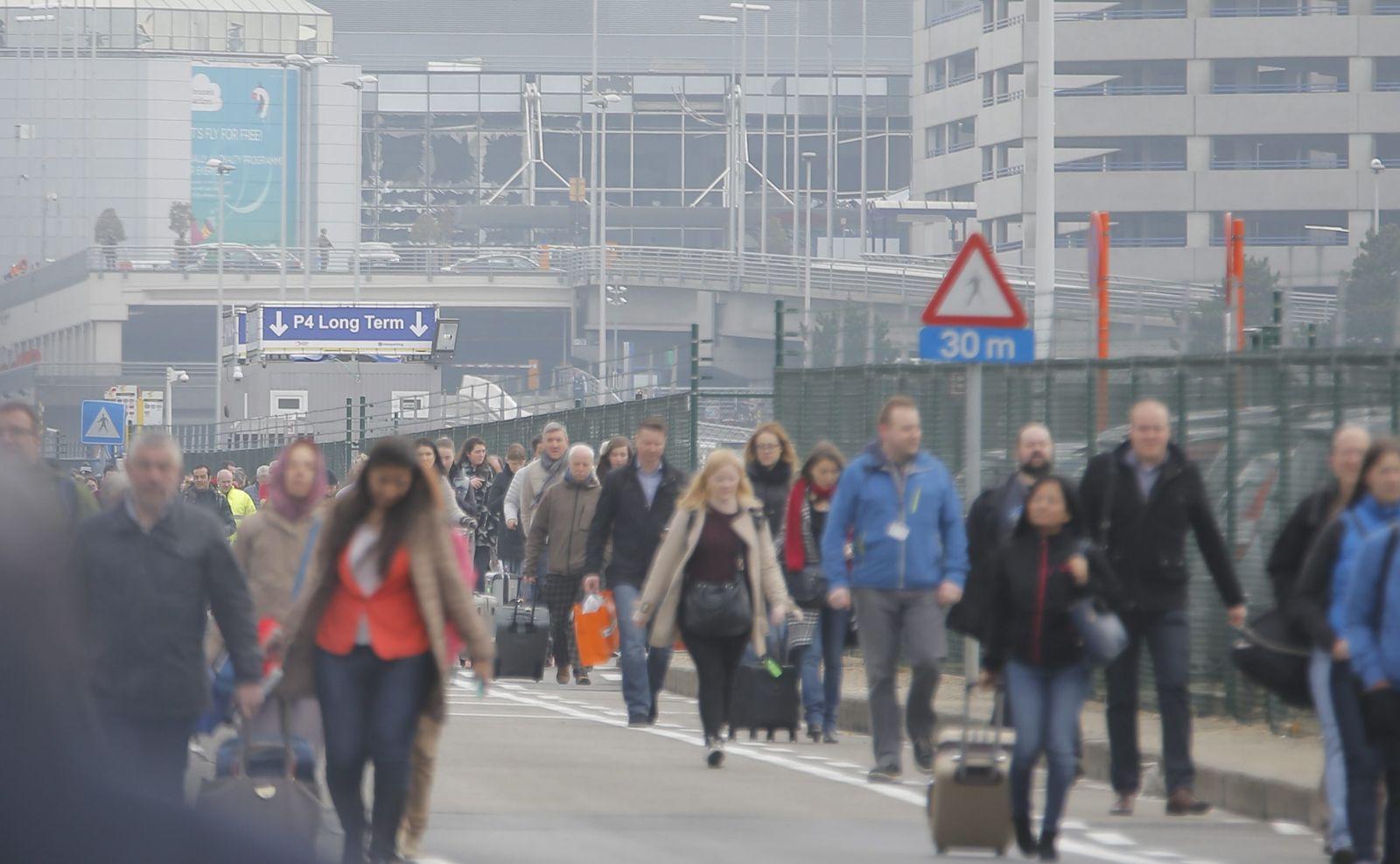 Brüssel / Explosionen / Flughafen