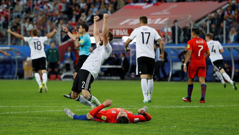 DFB-Erfolg beim Confed Cup: Großer Kampf, großer Jubel