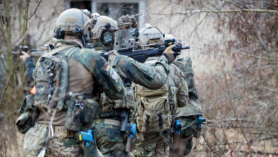 KSK-Soldaten beim Training (Archivbild aus dem März 2017)