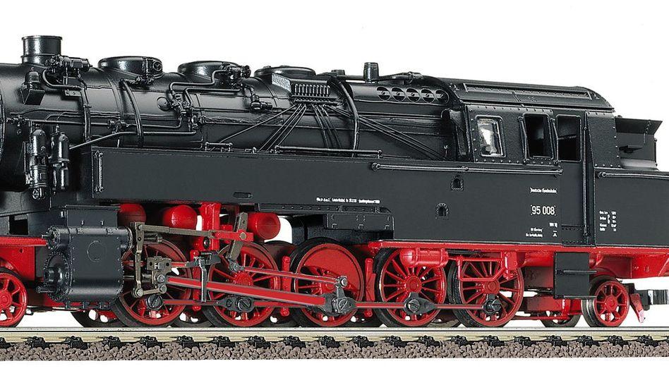 Fleischmann-Modelleisenbahn BR 95 (Archiv): Konstruktion am Standort Heilsbronn