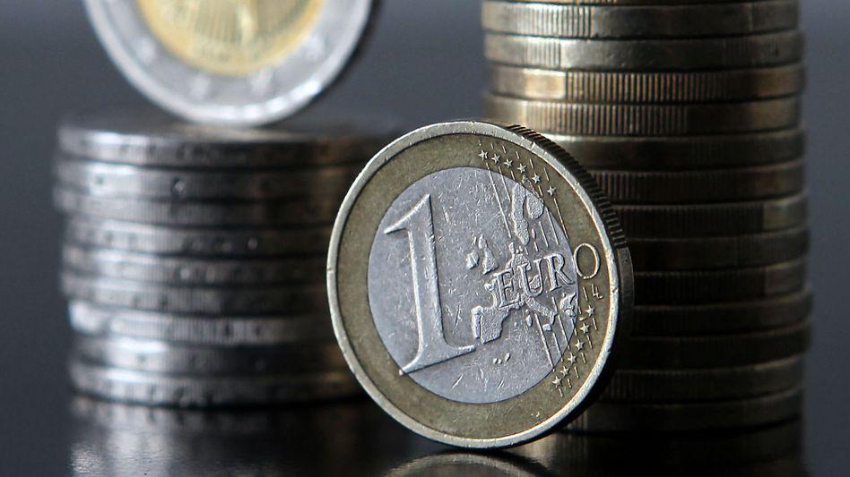 Euro-Münzen: Schuldenstand der öffentlichen Haushalte deutlich gestiegen