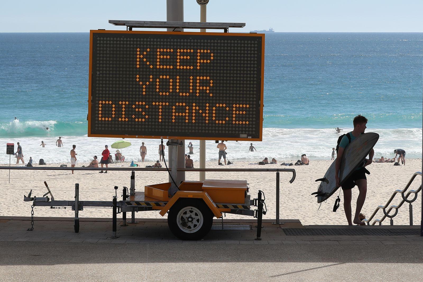 Australians Mark Easter Long Weekend In Coronavirus Lockdown