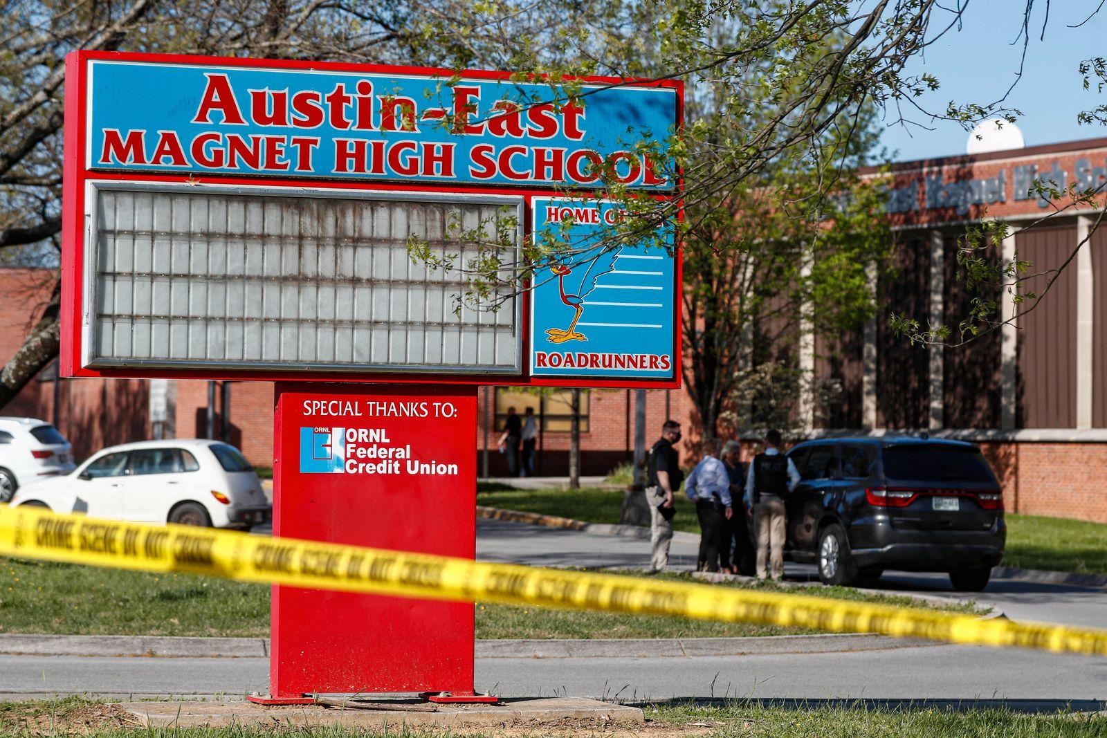 Schüsse an High School im US-Bundesstaat Tennessee