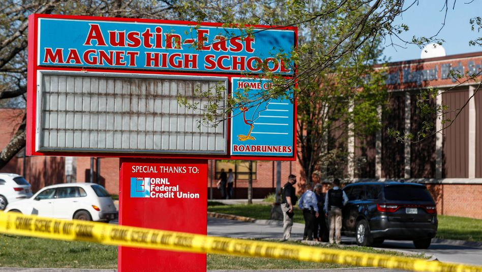Austin-East High School in Knoxville, Tennessee