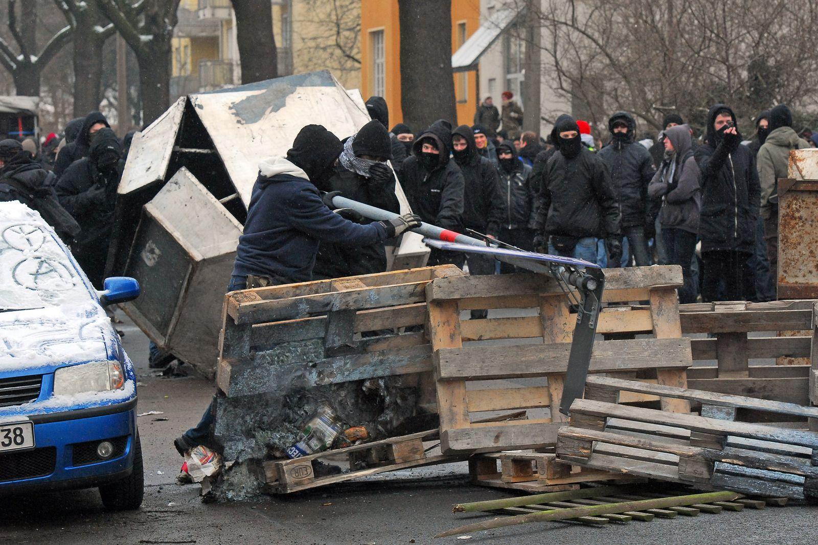 Neonazi/ Aufmarsch in Dresden