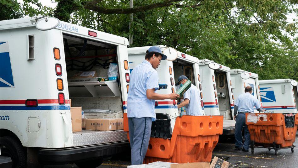 Mitarbeiter des United States Postal Service