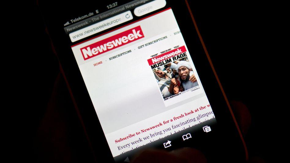 """""""Newsweek"""" auf dem iPhone: IAC trennt sich von dem Onlinemagazin"""