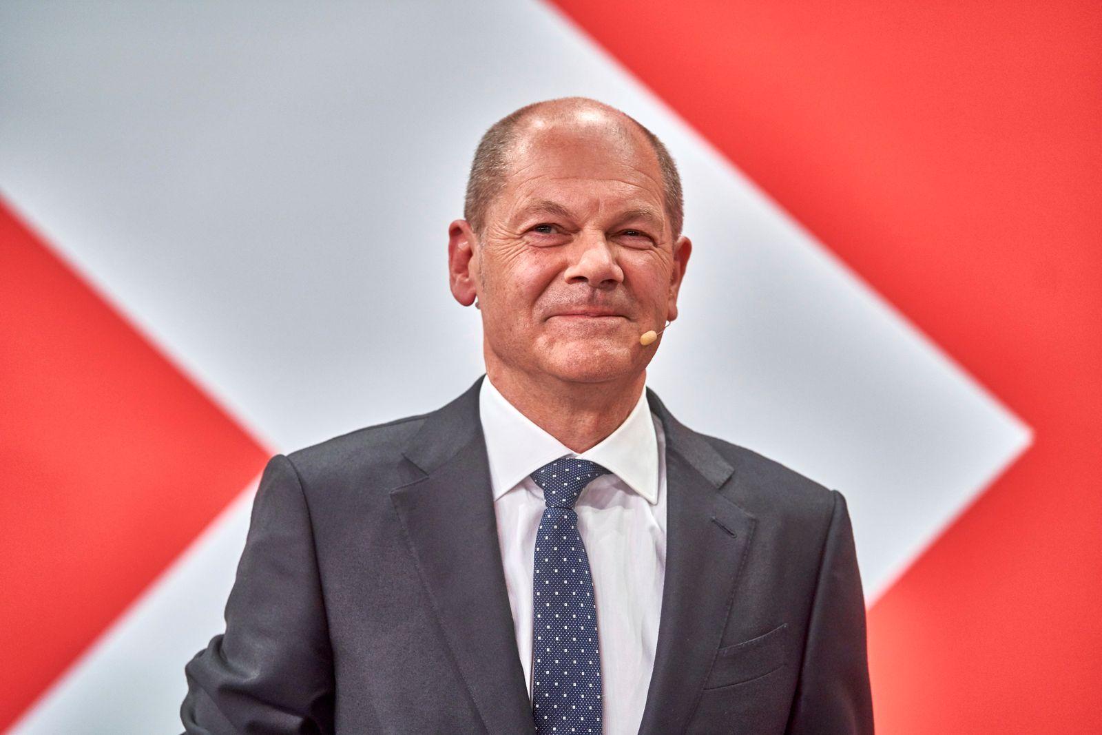 Bundestagswahl 2021: Wahlabend SPD