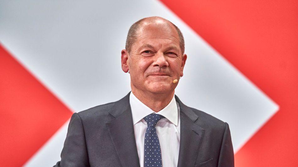 Sozialdemokrat Olaf Scholz