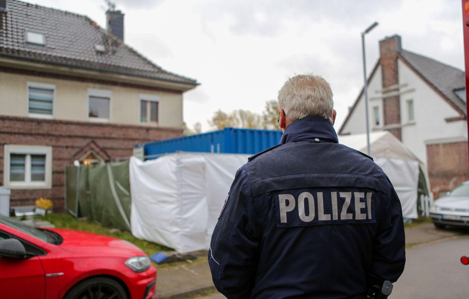 Massenhafter Missbrauch in NRW - Haus eines Verdächtigen