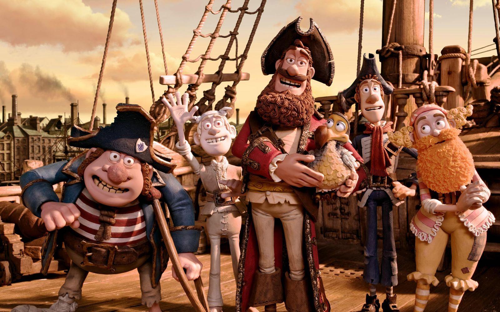 Piraten, Die - Ein Haufen merkw¸rdiger Typen (3D) / Pirates! Band Of Misfits (3D), The