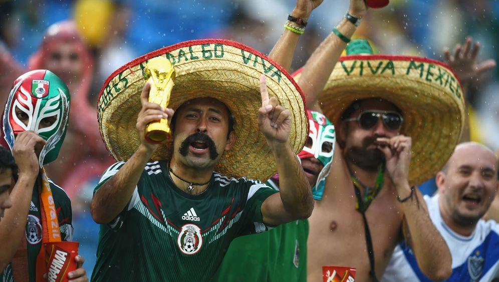 Mexiko gegen Kamerun: Vier Tore - nur eines zählt