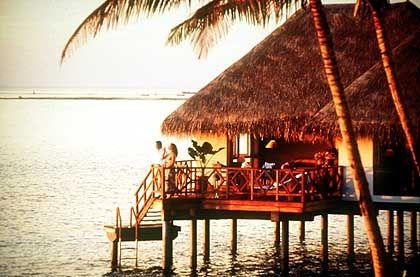 Das wäre das Ziel gewesen: Hotel auf den Malediven