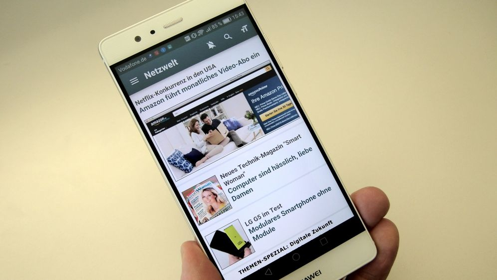 Das Smartphone mit Leica-Optik: Huawei P9 im Test