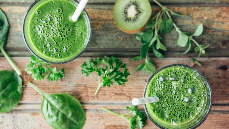 Grüne Smoothies: Schnell und einfach herzustellen