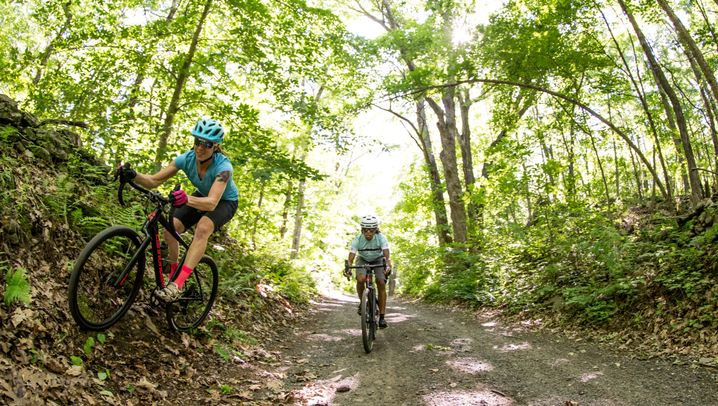 Rennrad mit Federgabel: Das Cannondale Slate im Test