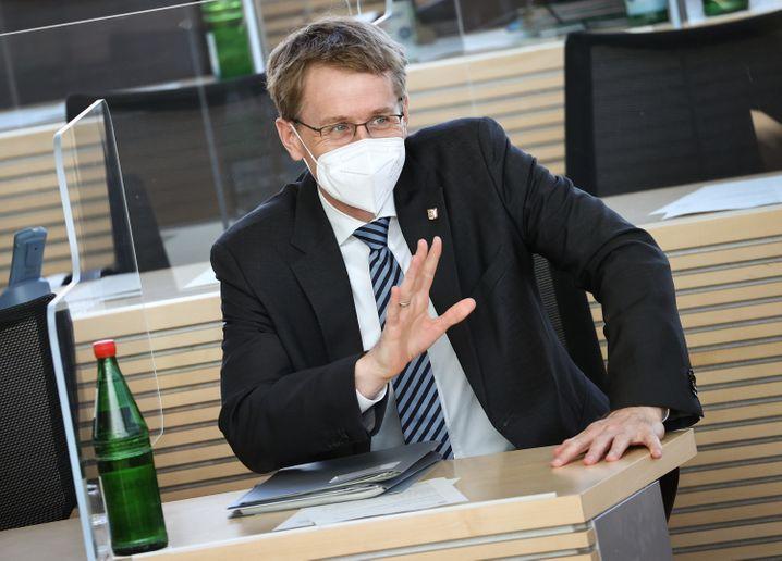 Schleswig-Holsteins Ministerpräsident Daniel Günther (CDU)