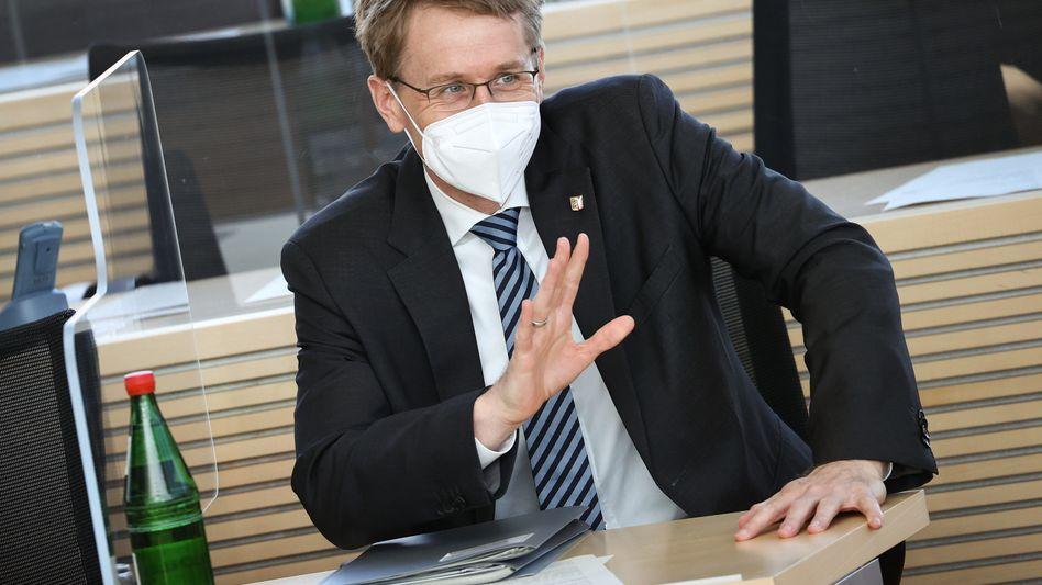 Daniel Günther im Landtag: »Ich bin gerne bereit, bei der Neuaufstellung im Bund zu helfen, aber nicht in vorderster Front«