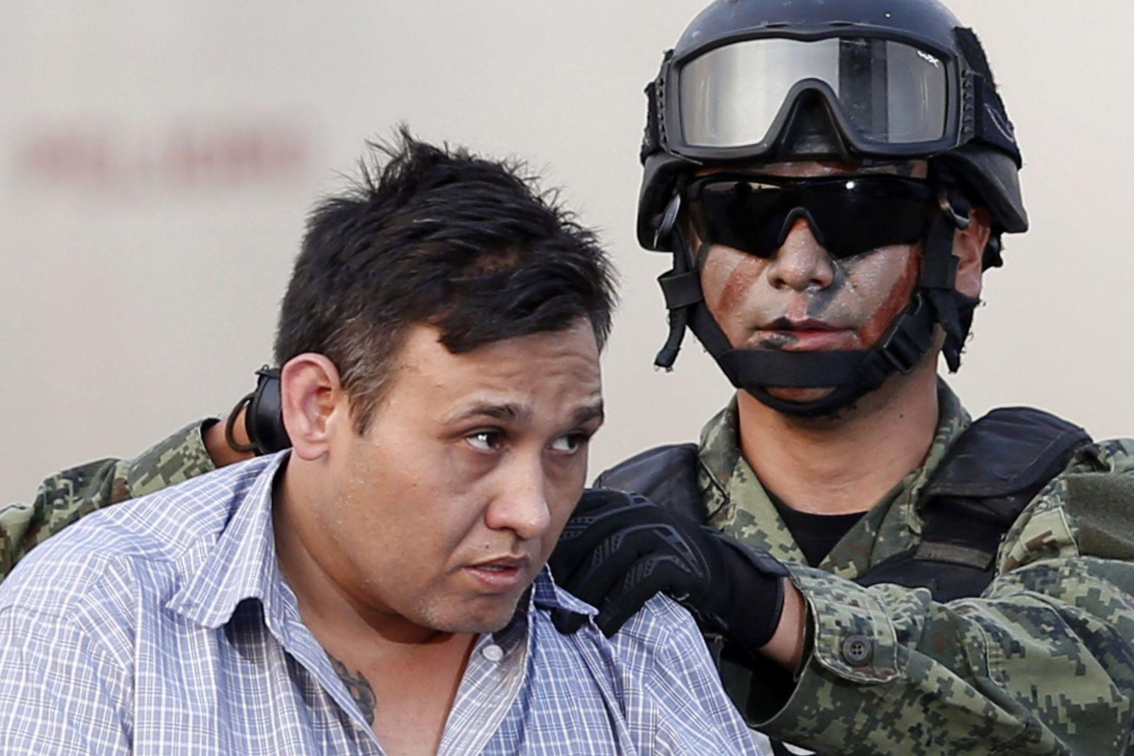 Mexiko Polzei Omar Trevino Morales