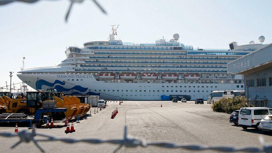 """Ausbreitung des Coronavirus: Berlin will deutsche """"Diamond Princess""""-Passagiere ausfliegen"""
