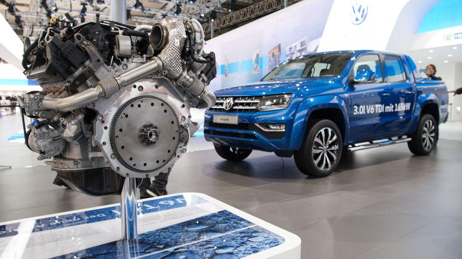 VW-Amarok auf der IAA 2016