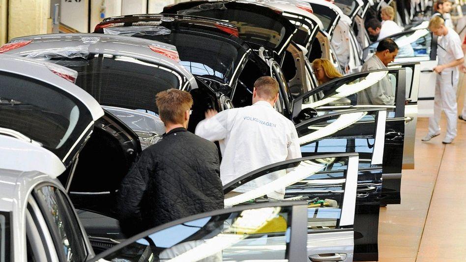 Arbeiter bei VW