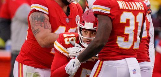 NFL: Patrick Mahomes verletzt, sein Backup rettet die Kansas City Chiefs ins Conference-Finale