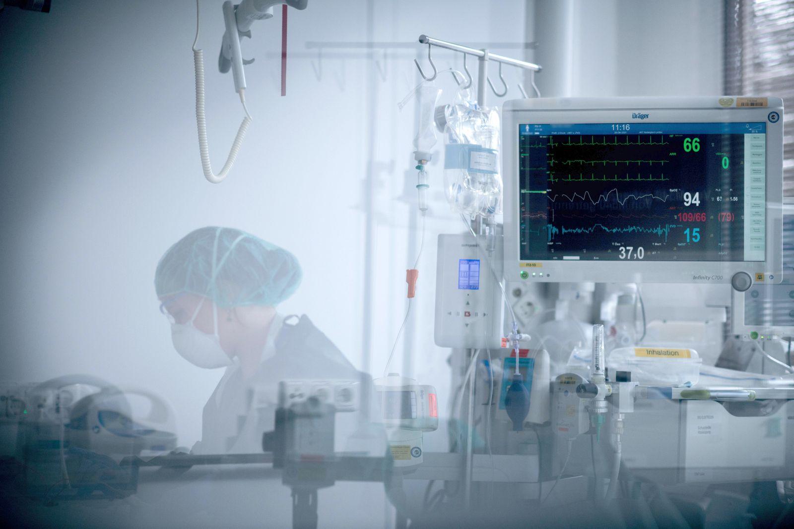 Coronavirus - Intensivstation Universitätsklinikum Essen