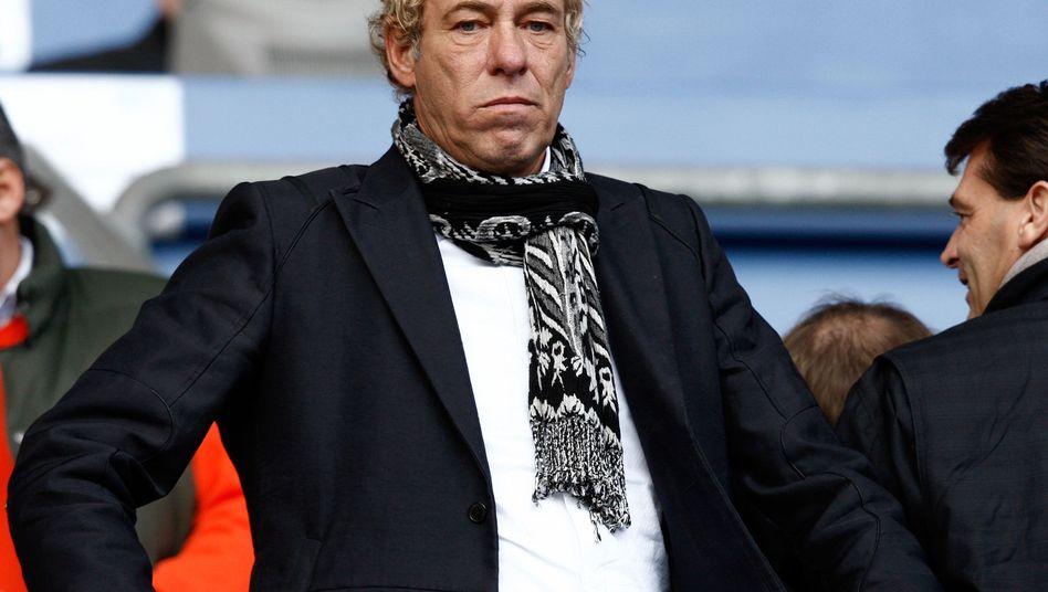 Eintracht-Präsident Fischer (im Oktober 2008): Mängel eines Anlagemodells verschwiegen?