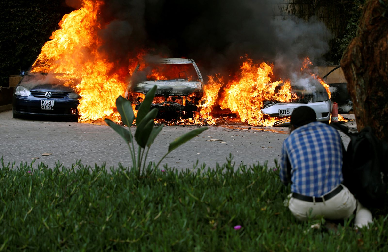 Kenia/ Schüsse/ Explosion