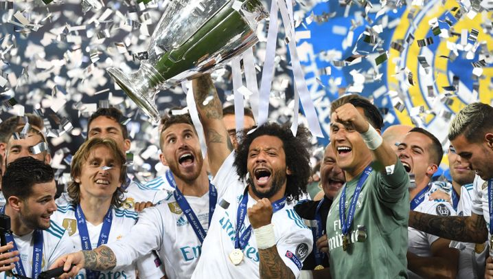 """Football Money League"": Europas Geldrangliste"