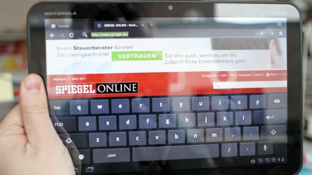 Motorolas Xoom: Schnelles Tablet mit großem Display