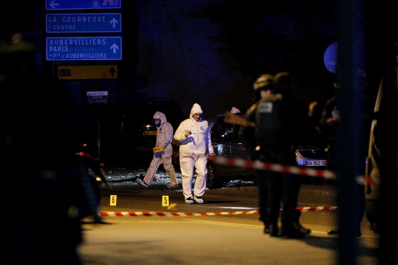 Paris / Anschläge / Forensiker