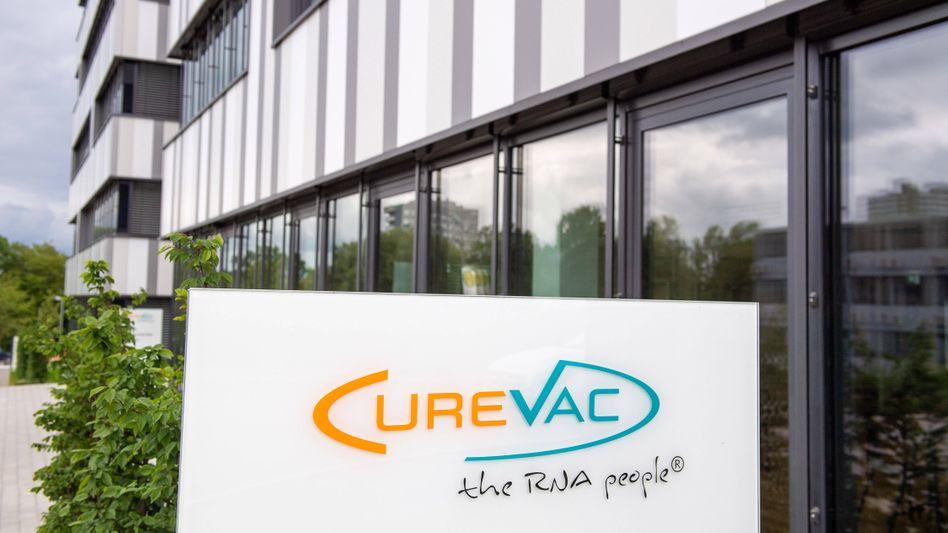 Firmensitz von Curevac in Tübingen