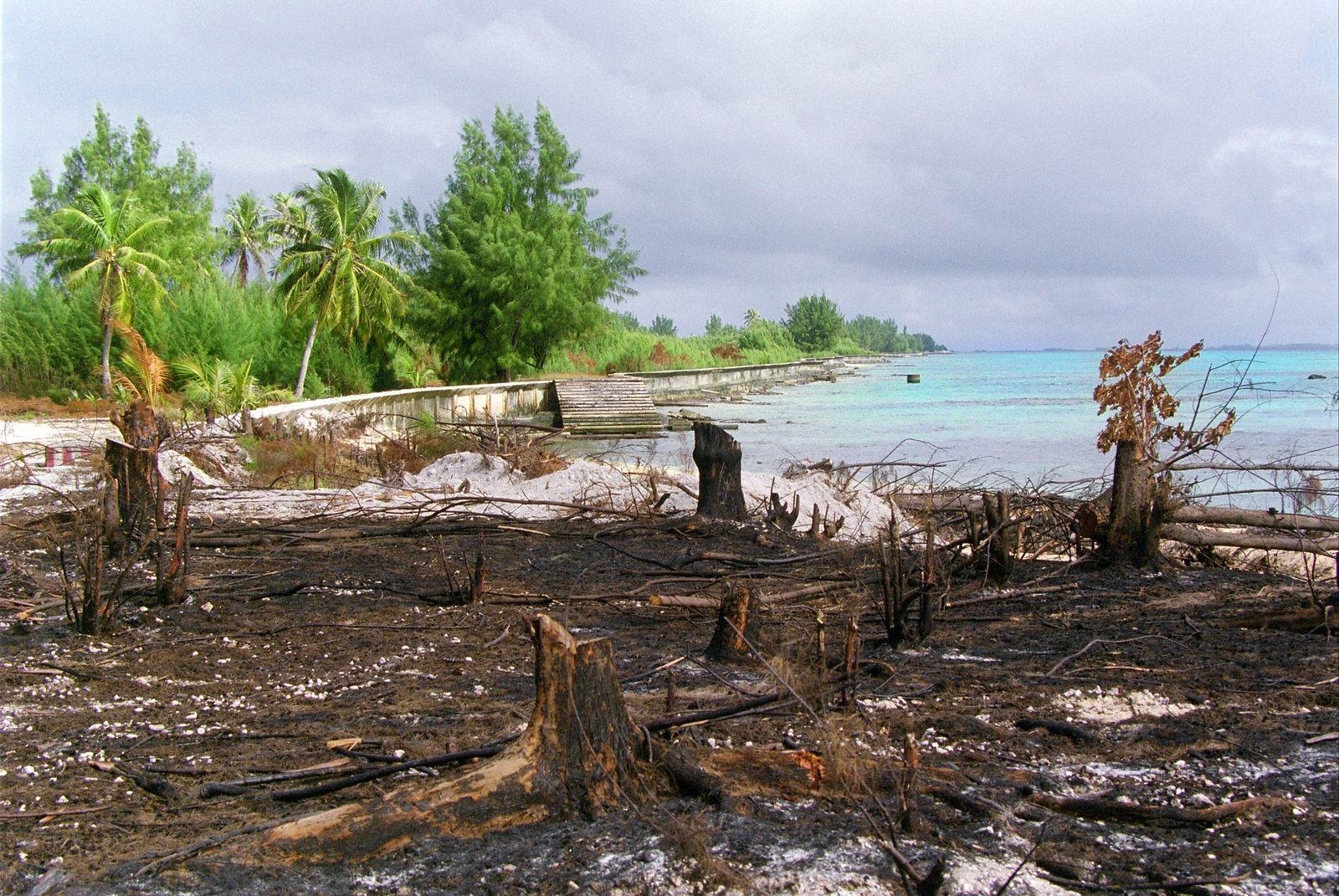 Polynesien/Atomtestgelände