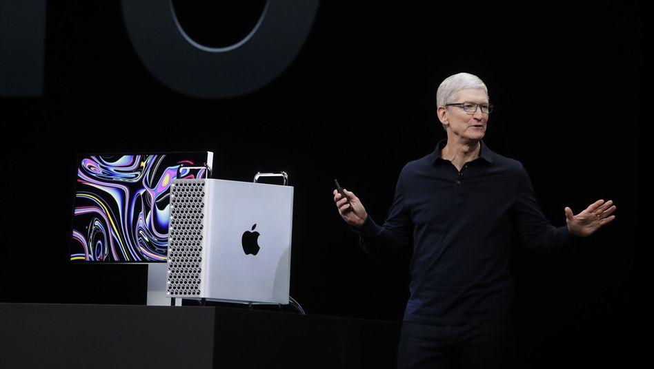 Tim Cook und die 6000-Dollar-Käsereibe namens Mac Pro
