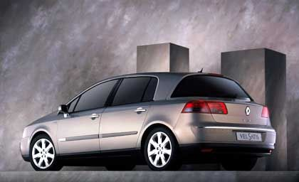 Renault Vel Satis: auffallende Raum-Limousine