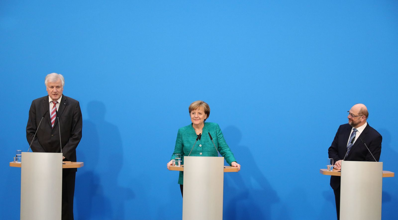 Groko Berlin/ Merkel/ Schulz/ Seehofer