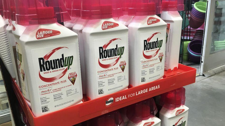 Glyphosathaltiges Unkrautvernichtungsmittel von Monsanto: Mögliche Krebsgefahr