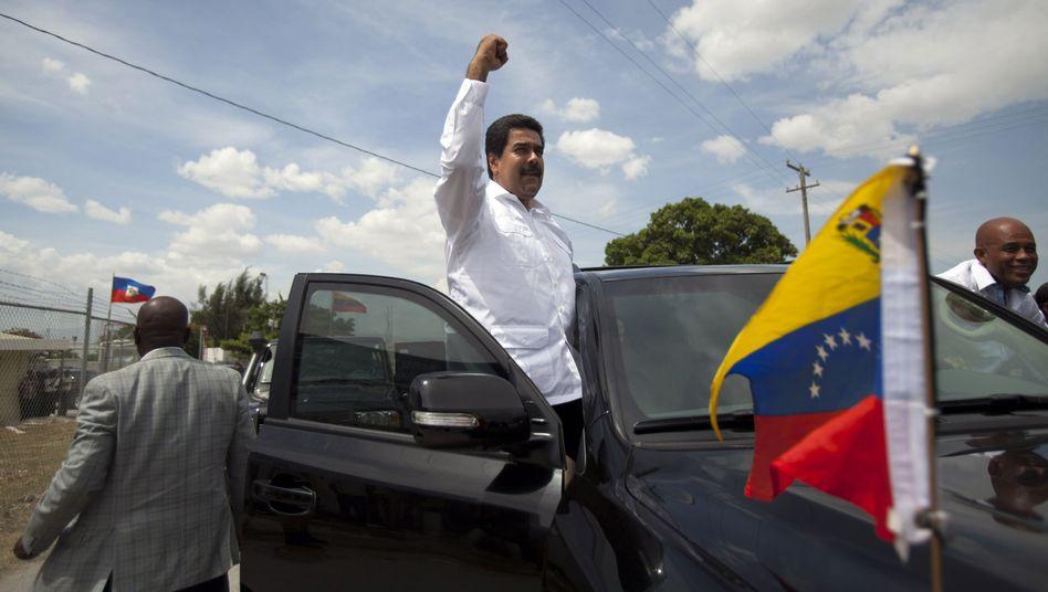 """Venezuelas Präsident Maduro: """"Kommen Sie her"""""""