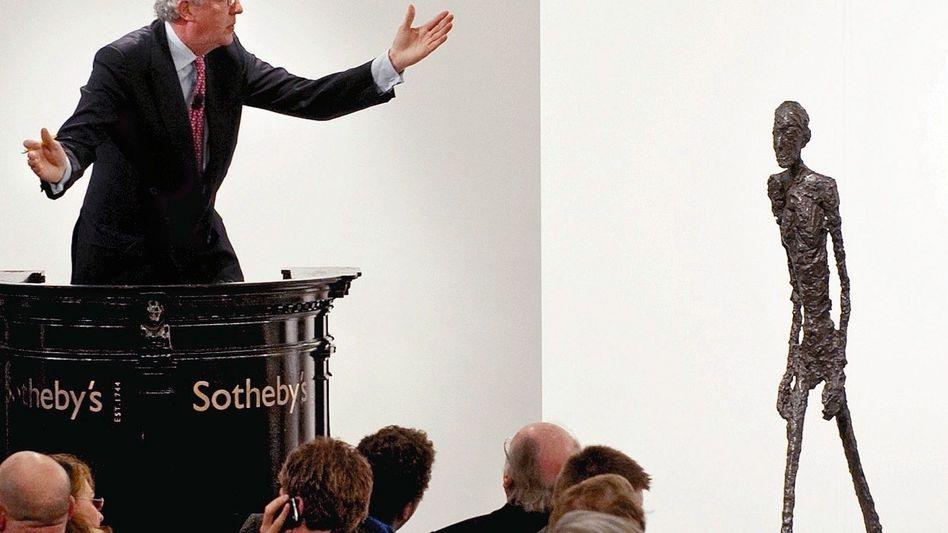 Giacometti-Skulptur-Versteigerung in London 2010: Teuerster Bildhauer der Welt
