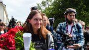 Russische Journalistin zu Geldstrafe verurteilt