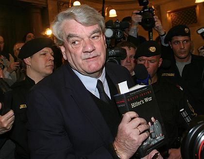 "British historian David Irving: ""I made a mistake when I said there were no gas chambers at Auschwitz."""